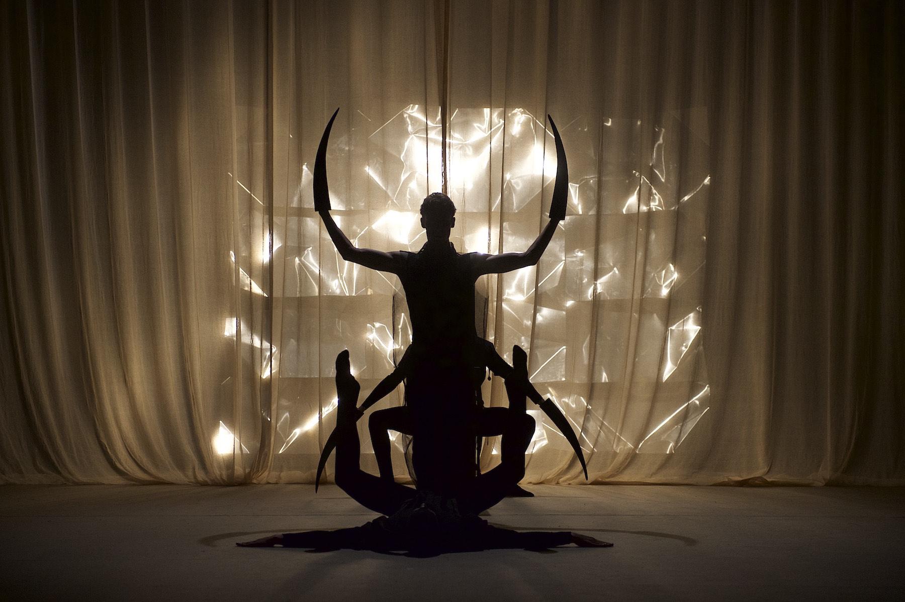 Foto von Performace Kunst
